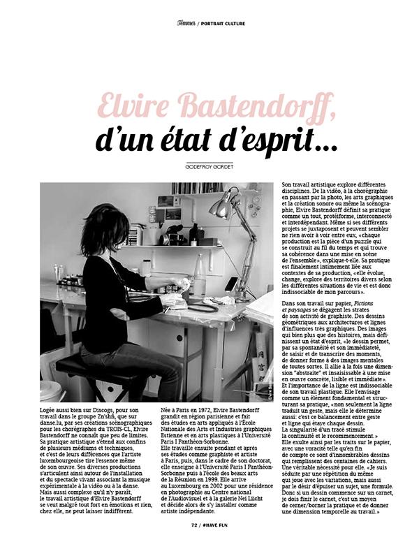Article de presse #1